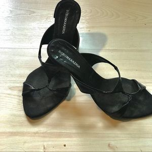 Shoes - BCBGmaxazaria heeled slides